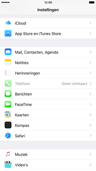 Apple Apple iPhone 6s Plus iOS 9 - E-mail - e-mail instellen (outlook) - Stap 3