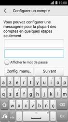 Huawei Ascend Y550 - E-mail - Configuration manuelle - Étape 7