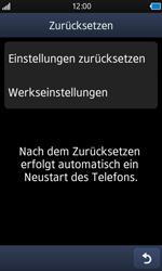 Samsung Wave - Fehlerbehebung - Handy zurücksetzen - 8 / 10
