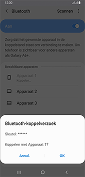 Samsung galaxy-a6-plus-sm-a605fn-ds-android-pie - Bluetooth - Headset, carkit verbinding - Stap 8