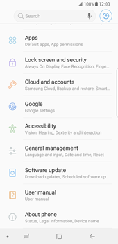 Samsung Galaxy S8 - Android Oreo - Device - Factory reset - Step 5