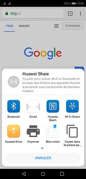 Huawei P20 - Internet et roaming de données - Navigation sur Internet - Étape 21