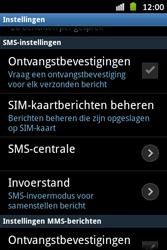 Samsung S6500D Galaxy Mini 2 - SMS - handmatig instellen - Stap 4