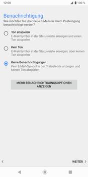 Sony Xperia XZ3 - E-Mail - Konto einrichten - Schritt 20