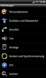 HTC S510e Desire S - WLAN - Manuelle Konfiguration - Schritt 4