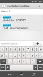 Sony Xperia E4G - MMS - Erstellen und senden - 1 / 1