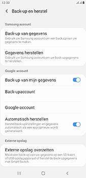 Samsung Galaxy J6 Plus - Data - maak een back-up met je account - Stap 7