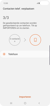 Samsung galaxy-s10-plus-dual-sim-sm-g975f - Contacten en data - Contacten kopiëren van SIM naar toestel - Stap 12