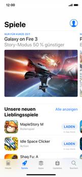 Apple iPhone X - iOS 12 - Apps - Herunterladen - Schritt 5