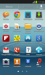 Samsung Galaxy S3 Mini - Fehlerbehebung - Handy zurücksetzen - 5 / 10