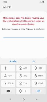 Samsung Galaxy A50 - Sécurité - activéz le code PIN de l'appareil - Étape 9