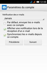 Alcatel One Touch Pop C3 - E-mail - configuration manuelle - Étape 25