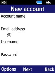Samsung B550H Xcover 550 - E-mail - Manual configuration - Step 6