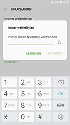 Samsung Galaxy S6 (G920F) - Android Nougat - Anrufe - Rufumleitungen setzen und löschen - Schritt 10