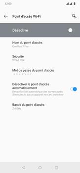 OnePlus 7 Pro - Internet et connexion - Partager votre connexion en Wi-Fi - Étape 11