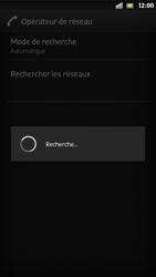 Sony Xperia S - Réseau - Sélection manuelle du réseau - Étape 8