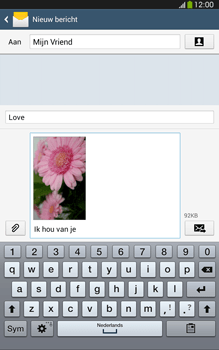 Samsung T315 Galaxy Tab 3 8-0 LTE - MMS - afbeeldingen verzenden - Stap 19