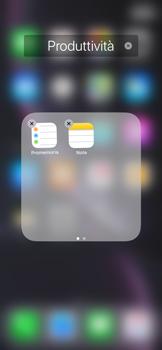 Apple iPhone XR - Operazioni iniziali - Personalizzazione della schermata iniziale - Fase 8