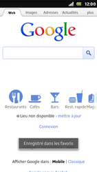 Sony ST25i Xperia U - Internet - Navigation sur Internet - Étape 6