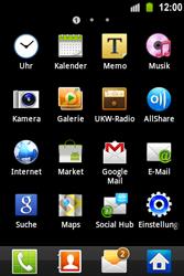 Samsung Galaxy Ace - E-Mail - E-Mail versenden - 3 / 15