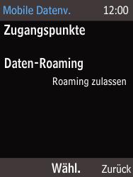 Nokia 225 - Internet und Datenroaming - Deaktivieren von Datenroaming - Schritt 7