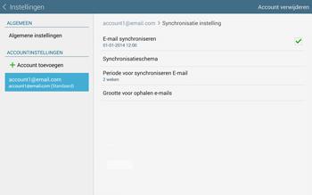 Samsung Galaxy Tab S 10.5 4G (SM-T805) - E-mail - Instellingen KPNMail controleren - Stap 9