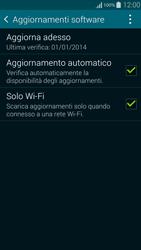Samsung G850F Galaxy Alpha - Software - Installazione degli aggiornamenti software - Fase 7