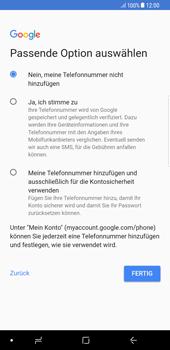 Samsung Galaxy S8 Plus - Apps - Konto anlegen und einrichten - 14 / 21