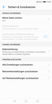 Huawei Mate 10 Lite - Fehlerbehebung - Handy zurücksetzen - 8 / 11