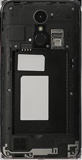 LG K10 (2017) - Primeros pasos - Quitar y colocar la batería - Paso 3