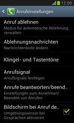 Samsung I8190 Galaxy S3 Mini - Anrufe - Anrufe blockieren - Schritt 5