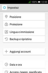 Alcatel Pixi 3 (3.5) - Dispositivo - Ripristino delle impostazioni originali - Fase 5