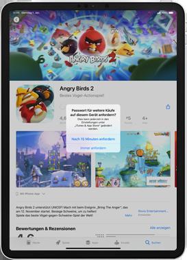 Apple iPad 9.7 (2018) - iPadOS 13 - Apps - Installieren von Apps - Schritt 16