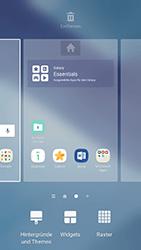 Samsung Galaxy A5 (2017) - Startanleitung - Installieren von Widgets und Apps auf der Startseite - Schritt 4