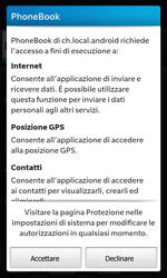BlackBerry Z10 - Applicazioni - Installazione delle applicazioni - Fase 9