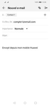 Huawei Y5 (2019) - E-mail - envoyer un e-mail - Étape 7