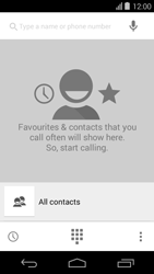 Acer Liquid E600 - Voicemail - Manual configuration - Step 4