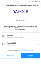 Samsung Galaxy S7 - Android N - E-Mail - 032b. Email wizard - Yahoo - Schritt 10