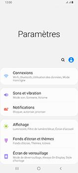 Samsung Galaxy A80 - Internet et roaming de données - Comment vérifier que la connexion des données est activée - Étape 4