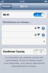 Apple iPhone 4S - WiFi - Configuration du WiFi - Étape 5