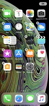 Apple iPhone XS - Prise en main - Personnalisation de votre écran d