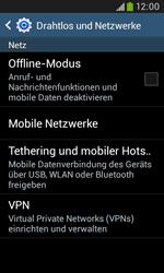 Samsung Galaxy Trend Plus - Netzwerk - Netzwerkeinstellungen ändern - 5 / 8