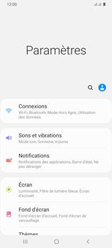 Samsung Galaxy A31 - Internet et connexion - Désactiver la connexion Internet - Étape 4