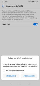 Huawei P20 Lite Dual-SIM (Model ANE-LX1) - Bellen - WiFi Bellen (VoWiFi) - Stap 7
