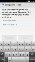 Acer Liquid E3 - E-mail - Configuration manuelle - Étape 5