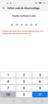 Huawei Nova 5T - Sécuriser votre mobile - Activer le code de verrouillage - Étape 7