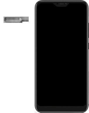Xiaomi Mi A2 Lite - Toestel - simkaart plaatsen - Stap 2