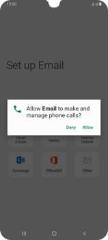 Samsung Galaxy A70 - E-mail - 032c. Email wizard - Outlook - Step 10