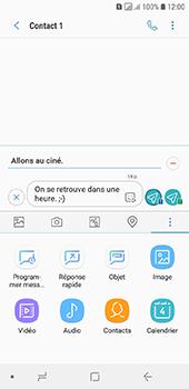 Samsung Galaxy A6 - Contact, Appels, SMS/MMS - Envoyer un MMS - Étape 14