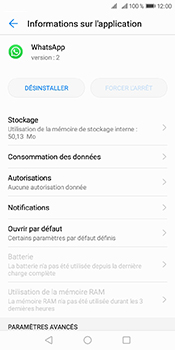 Huawei Y6 (2018) - Applications - Supprimer une application - Étape 6